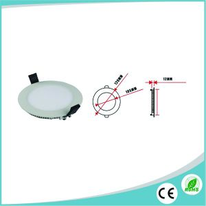 6W Recessed Ultra Slim Round LED Panel with Ce/RoHS Approved pictures & photos
