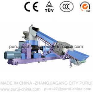 Watering Die Face Hot Cutting Plastic Recycling Machine for Waste PP pictures & photos