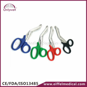 New Design Medical First Aid Gauze Bandage Scissor pictures & photos
