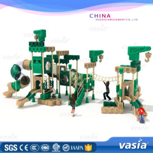 Special Child Plastic Outdoor Play Ground Vs2-7021A pictures & photos