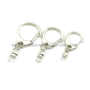 Metal Key Chain Ring with Spring Clip pictures & photos