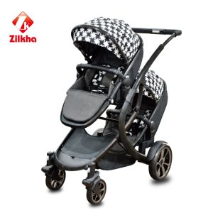 Baby Stroller with Frame and Regular Seat and Regular Carrycot pictures & photos