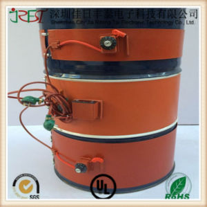 Custom Silicone Rubber Heating Mat for Oil Drum pictures & photos