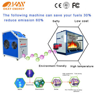 Water Electrolysis Hydrogen Heating Gas Water Heater pictures & photos