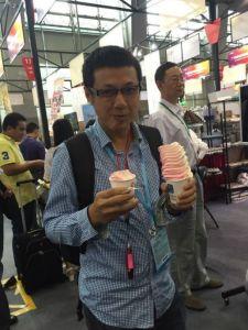 Hoot Floor Model Soft Ice Cream Machine pictures & photos