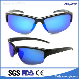 Soflying Good Quality Model Plastic Cycling Sport Eyewear Polarized Sunglasses pictures & photos
