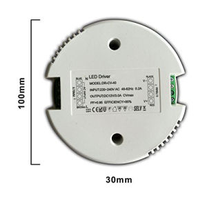 40W Round Not Dimmable LED Driver for LED Light pictures & photos