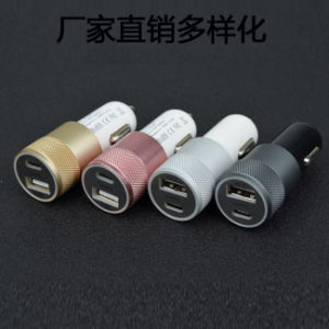 2 Port 3.4A USB Type C Car Charger for MacBook pictures & photos