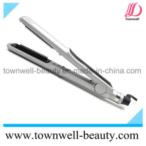 Floating Ploates Smart Hair Straightening Brush with Tourmaline Ceramic Coating pictures & photos