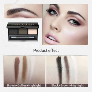 Cosmetics Eye Shadow Powder 3 Color Eyeshadow Palette pictures & photos