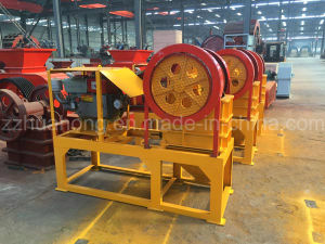Mini Jaw Stone Crusher, Crushing Machine Parts Price List pictures & photos