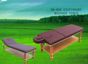 Wooden Stationery Massage Table (SM-004) pictures & photos