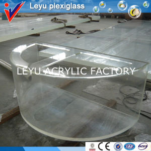 Half Cylinder Shape Acrylic Fish Tank pictures & photos