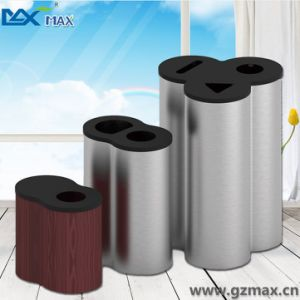 Bathroom Triangle Opening Cute Designer Cylindrical Garbage Bin pictures & photos