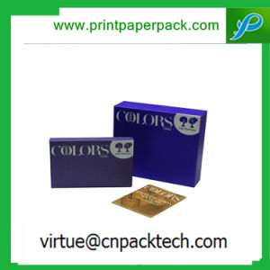 Bespoke Cosmetic Paper Gift Box with Your Logo and Design pictures & photos
