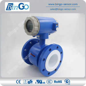 No Moving Parts Water Electromagnetic Flow Meter with Display pictures & photos