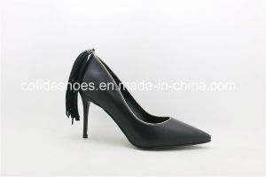 17ss New Design High Heels Fashion Lady Dress Shoes pictures & photos