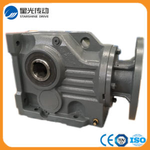 K Series Hollow Shaft Spiral Bevel Gearbox pictures & photos