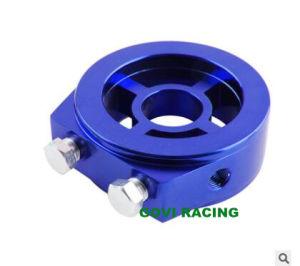 CNC Aluminum Universal Oil Temperature Filter Adapter Radiator pictures & photos