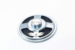 77mm 4-16ohm 0.5-2W Paper Cone Speaker with RoHS pictures & photos