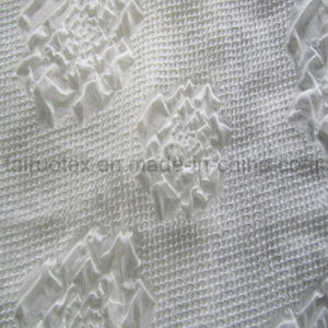 Polyester Jacquard Chiffon Fabric for Lady Dress and Shirt Cloth pictures & photos