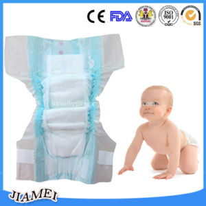 Soft Cotton Disposable Baby Diaper with High Absorption pictures & photos