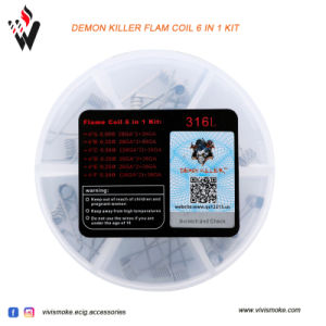 2017 Vivismoke Newest Released Demon Killer Flam Coil 6 in 1 pictures & photos