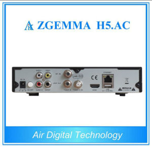 ATSC+DVB-S2 Hevc/H. 265 Two Tuners for America/Mexico Satellite TV Receiver Zgemma H5. AC pictures & photos