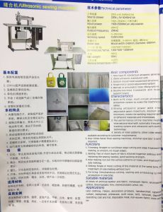 High Quality Ultrasound Sewing Machine for Bags Raincoats Handicrafts Ornaments Lace pictures & photos