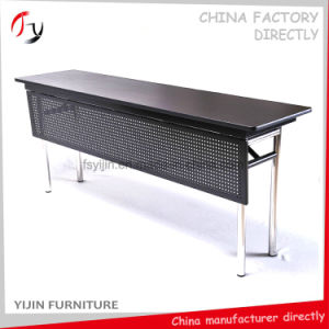 2017 High Class Folding Dark Color Front Panel Conference Table (CT-1) pictures & photos