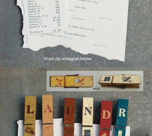 Wooden Clip with Magnet & Wooden Craft pictures & photos