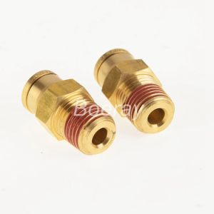 DOT Push in Male Connector with NPT Thread pictures & photos