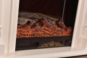 European Wood Furniture LED Lights Heater Electric Fireplace (337) pictures & photos