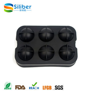 Amazon Hot Seller 6 Cells Round Ball Ice Sphere Tray pictures & photos