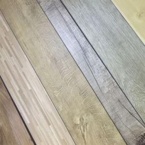 PVC WPC Luxury Vinyl Floor Tiles / PVC Flooring Planks pictures & photos
