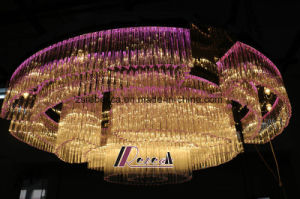 Modern Luxurious Glass Chandelier Light for Hotel Project pictures & photos