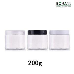 200g Pet Jar Clear Jar for Cream Packaging pictures & photos