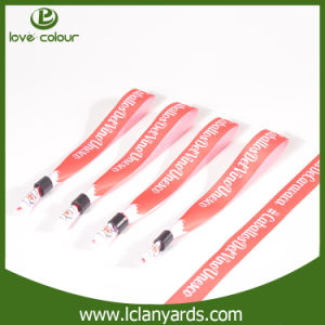 OEM Funny Textile Polyester Bracelets Sublimation Logo Customized pictures & photos