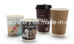 Automatic Hollow Double Wall Paper Cup Making Machine pictures & photos