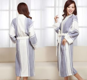 Women Long Sleeve Comfortable Cotton Bathrobes