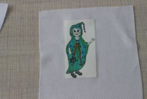 Free Sample Shirt Label Heat Iron on Cartoon Shirt Transfers Design for Women pictures & photos