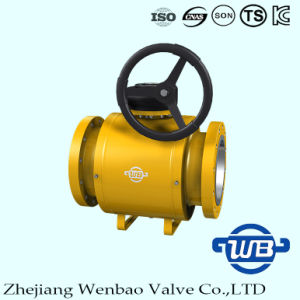 Fully Welded Manual Ball Valve with Standard Port for Gas pictures & photos