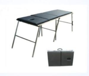 Folding portable Examination Couch pictures & photos