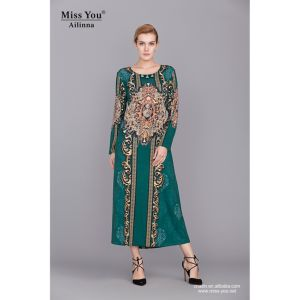 Miss You Ailinna 801884 Muslim Women Semi Formal Dress pictures & photos