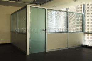 Modern Office Tempered Glass Wall Partition with Customized Requirement (SZ-WS684) pictures & photos