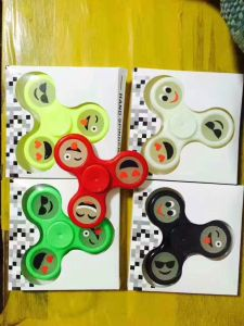 LED Creative Ceramic EDC Hand Spinner for Autism and Adhd Stress Relieve Toy pictures & photos