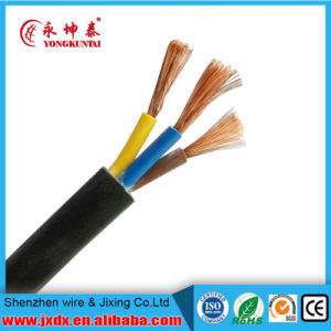 Rvv 3 Core Copper Core PVC Sheath Flexible Cable pictures & photos
