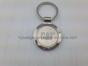 Custom Fashionable Key Chain, Plated Silver Key Ring (GZHY-KA-005) pictures & photos