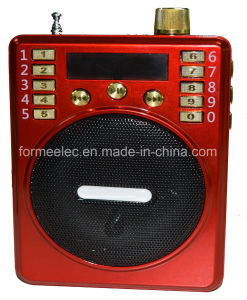 USB TF Card FM Mini Radio Portable Loudspeaker Amplifier pictures & photos