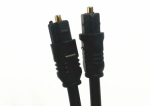 1m Digital Optical Fiber Audio Cable Od6.0mm pictures & photos